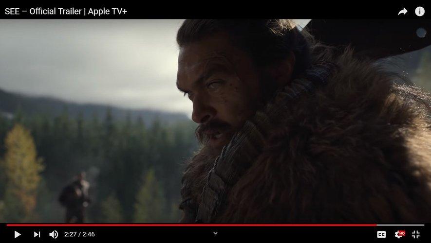 """Jason Momoa tient le rôle principal dans la nouvelle série fantastique d'Apple TV+, """"See""""."""