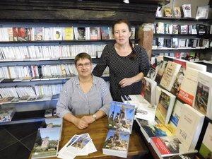 """Martine Pilarczyk a dédicacé  son dernier livre """"Du miel aux épices"""""""