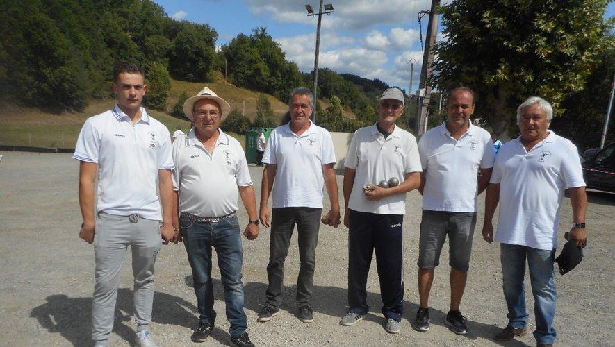 L'équipe viviezoise engagée au championnat des clubs.