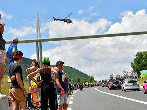 Les Millavois pourront revoir les coureurs du Tour de France l'an prochain.