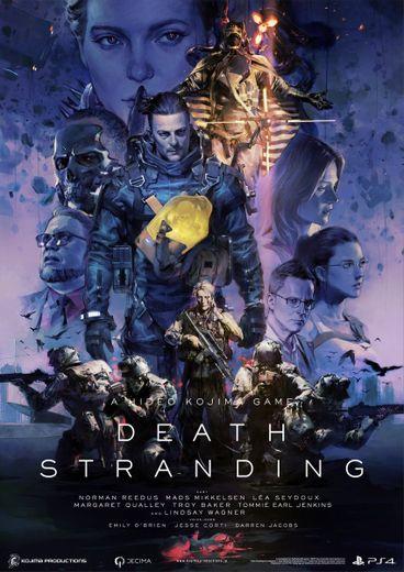 """Hideo Kojima a présenté une affiche du jeu """"Death Stranding"""" réalisée par Pablo Uchida"""