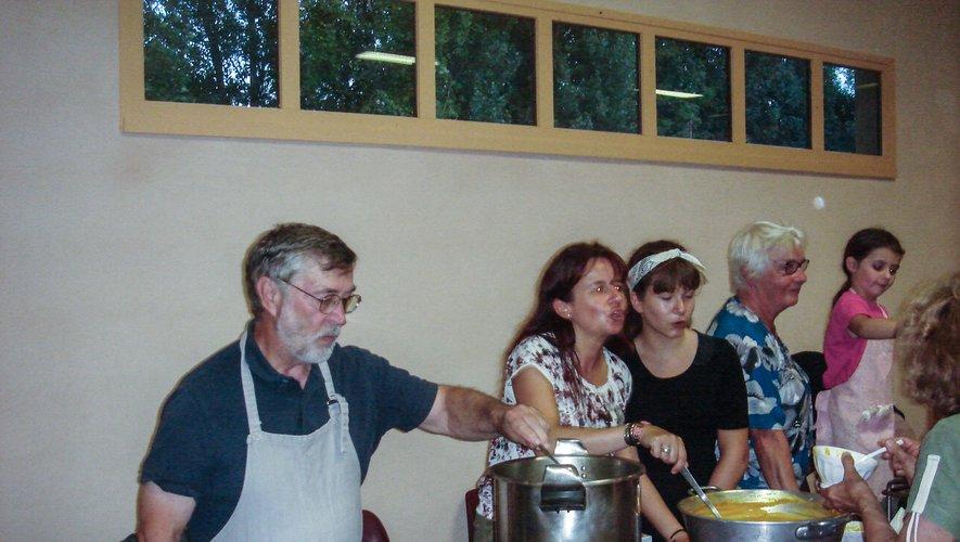 Le village va manger de la soupe tout ce week-end
