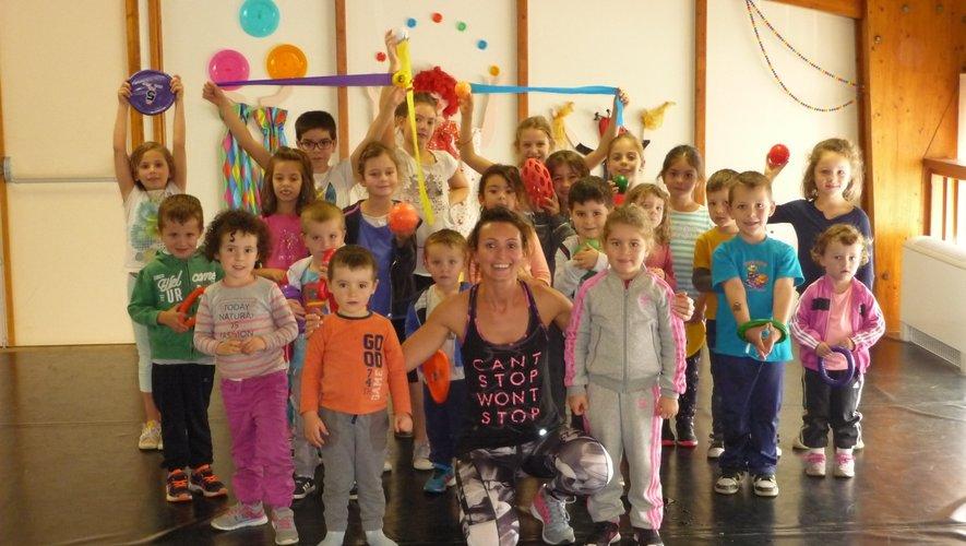 La gymnastique des enfants aura lieu le mercredi avec Lucie.