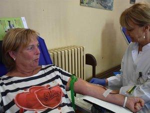 La participation à cette collecte de sang a été qualifiée de « moyenne ».