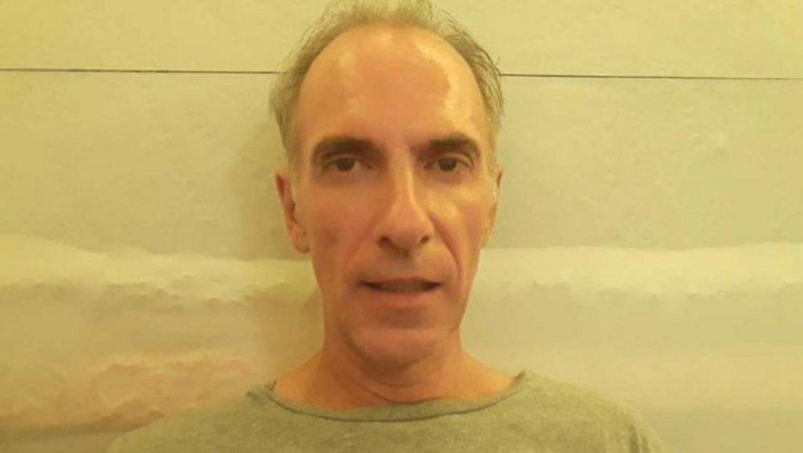 Mathias Echène lors de son incarcération en Indonésie.