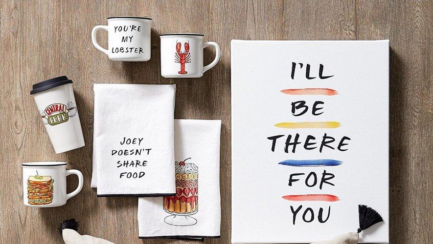 """Pottery Barn propose sa collection """"Friends"""" depuis le 30 juillet dernier aux Etats-Unis"""