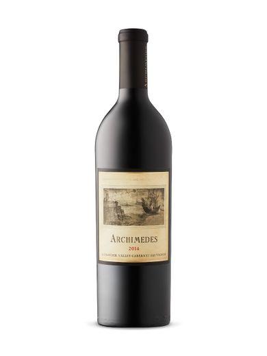 Une bouteille d'Archimedes de Francis Ford Coppola Winery