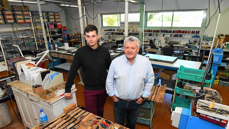 Max Capdebarthes et son fils Florent sont des « durs à cuir » qui respectent : le métier de maroquinier, les employés, les fournisseurs et les clients.