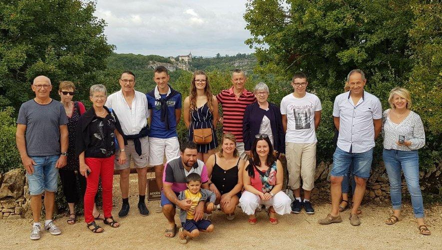 Les adhérents ont visité Padirac.