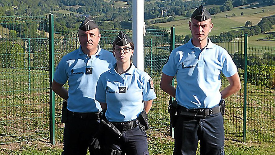 De gauche à droite : Stéphane Hebrard, Laura Desitter, Florin Robert.