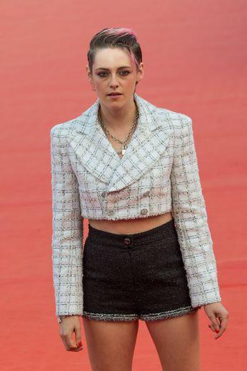 L'actrice américaine Kristen Stewart au festival du cinéma américain de Deauville vendredi le 13 septembre 2019.