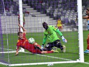Valentin Henry inscrit le quatrième but ruthénois alors qu'il reste encore un quart d'heure à jouer.
