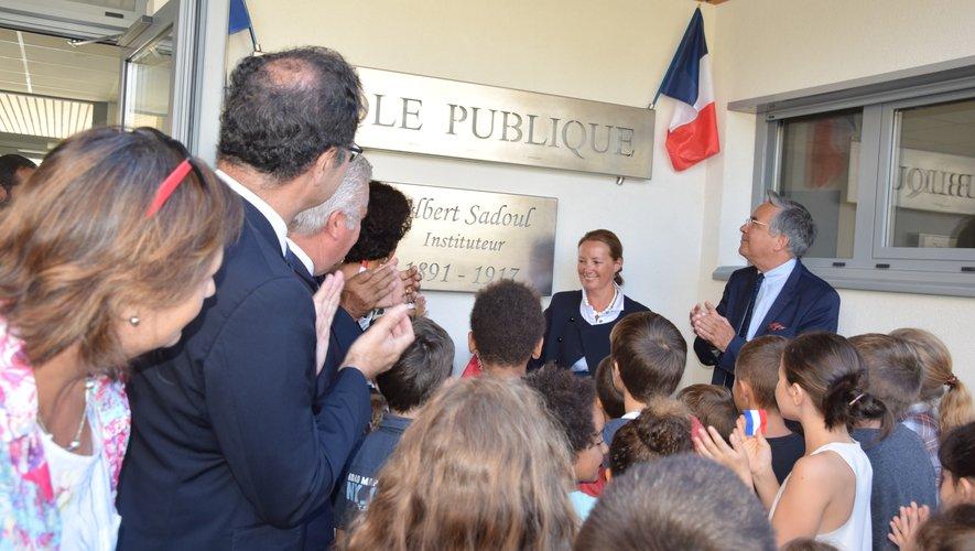 L'école prend le nom d'Albert Sadoul, instituteur mort au champ d'honneur comme 87 morts au combat au Nayrac