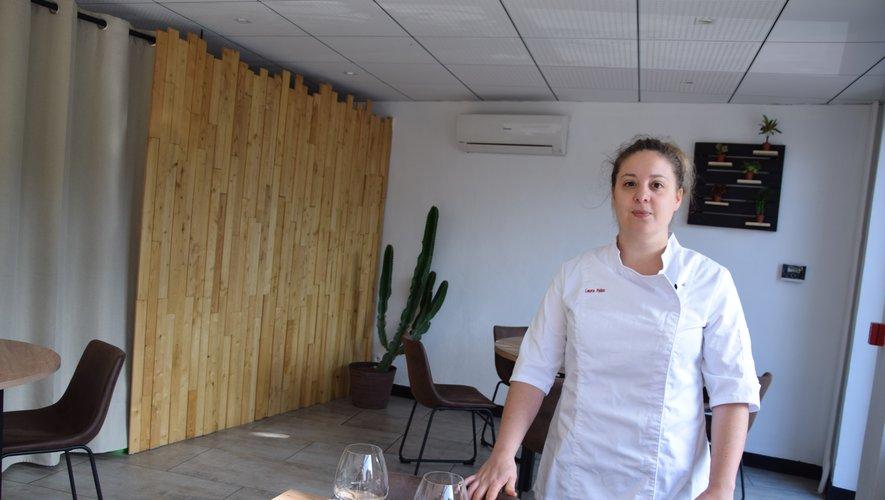 La jeune chef Laura Pelou à Paris en octobre