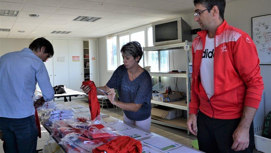 Sébastien et Carine Fabre accueillaient parents et enfants pour la reprise.