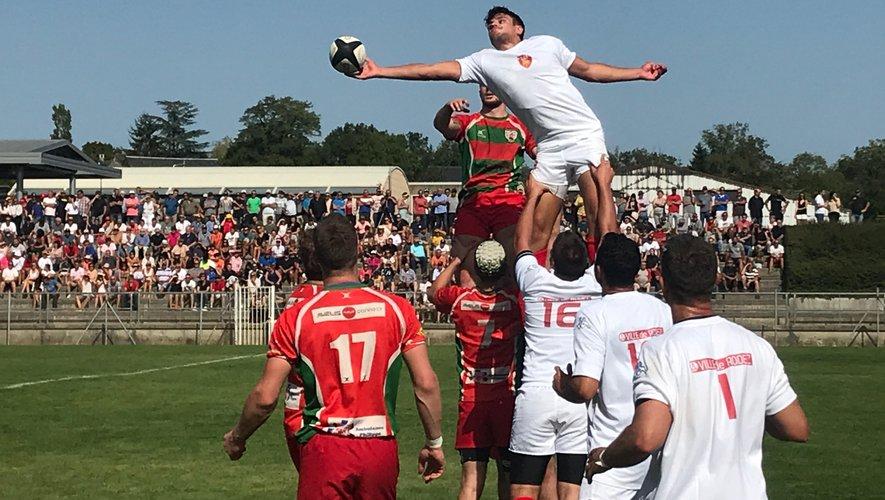 Rodez Rugby a attiré du monde à Vabre.