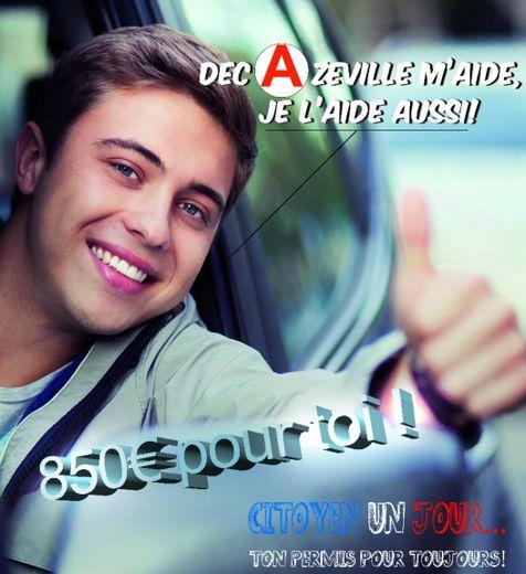 Moyennant 35 heures d'engagement citoyen dans l'un des services de la commune, les jeunes auront droit à une somme de 850 € pour financer leur permis de conduire.