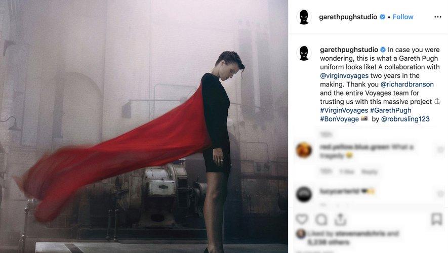 Gareth Pugh Studio sur Instagram 2019