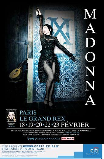 """""""MADAME X TOUR"""" de Madonna passera par Paris en février et mars 2020"""