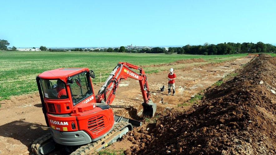 Le tronçon de 900 mètres vient d'être mis au jour dans le cadre de fouilles décidées par le Ministère de la Culture.
