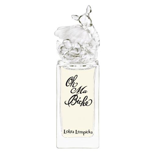 "L'eau de parfum ""Oh Ma Biche"" de Lolita Lempicka."