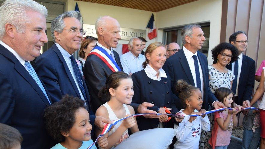 Des inaugurations comme un signe de vitalité pour la commune de 530 habitants.
