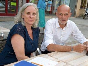 Éléonore Echène et Stéphane Mazars, plus mobilisés que jamais.