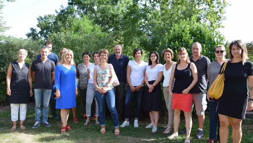 Les responsables d'Ehpad de l'Aveyron sont venus en repérage ce lundi à Espalion.