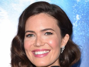 "L'Américaine Mandy Moore lors de l'avant-première de ""Breakthrough"" à Los Angeles le 11 avril 2019"