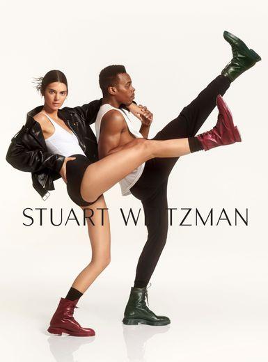 Kendall Jenner en duo avec Lil Buck pour la marque Stuart Weitzman.