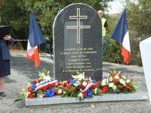 Une stèle commémorative inaugurée à Nouvel Vayssac