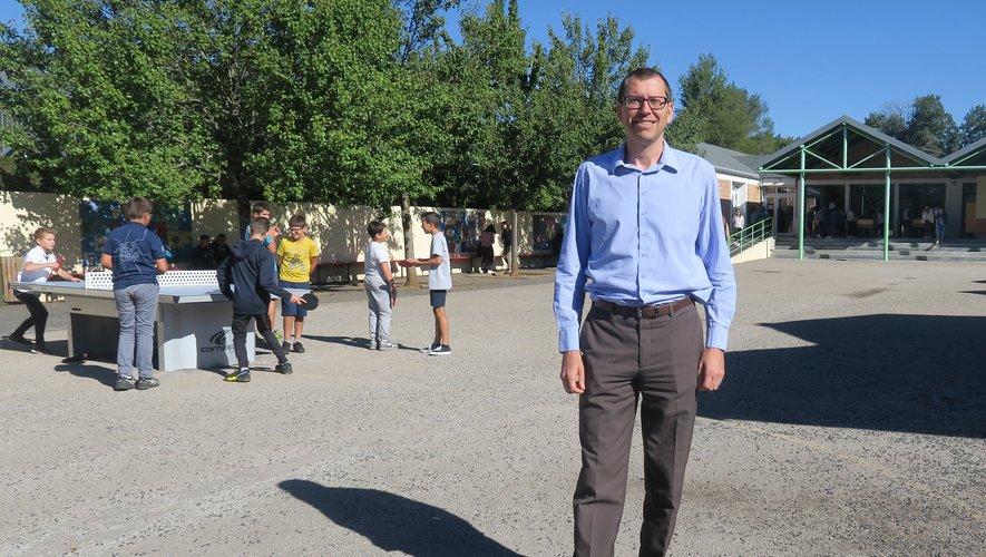 Jérôme Laudes a intégré le collège public de la Viadène sur le poste de Principal,