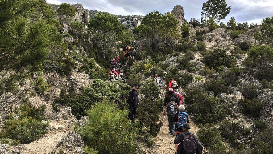 La randonnée se pratique sur 4 niveaux différents, donc accessible à tous.