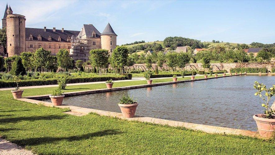 Le château Renaissance et son jardinà la française : à voir ce week-end.
