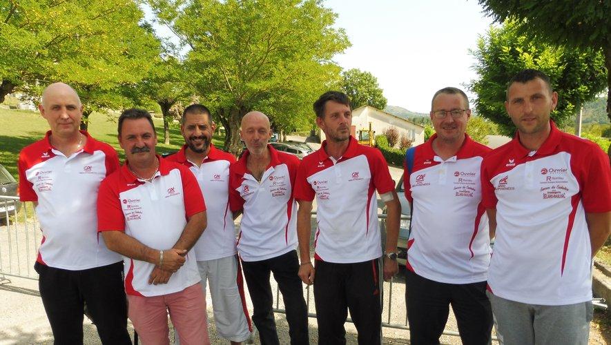L'équipe du Carladez occupe la tête de sa poule en division 3.