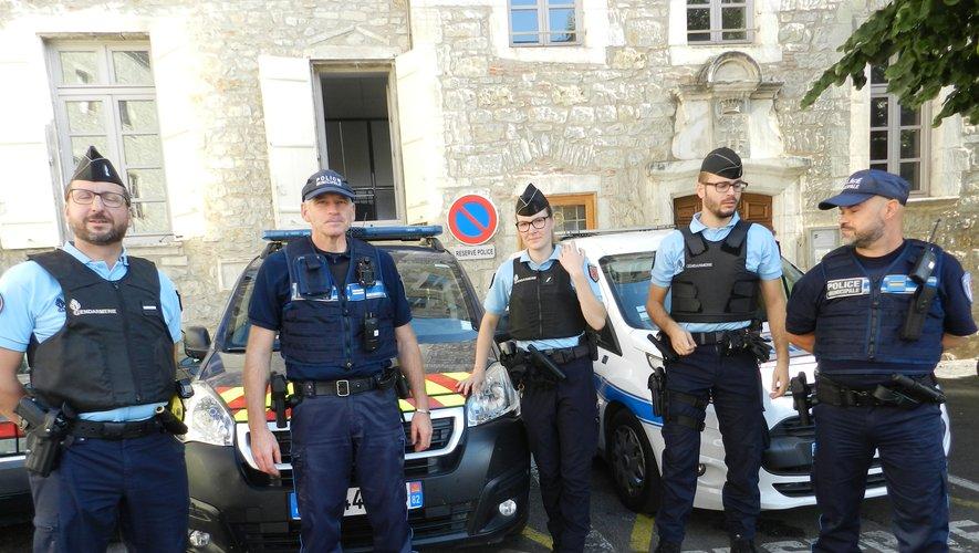 Des patrouilles mixtes, gendarmerie-police municipale, vont être déployées en ville.