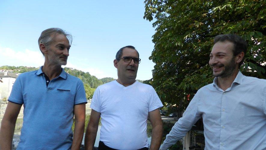 Franck Costa et Franck Fabulet remercient la mairie pour son soutien.