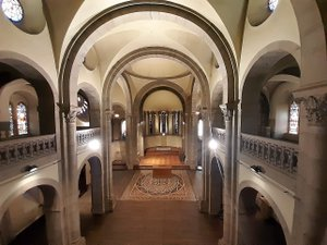 La chapelle Jeanne-d'Arc a été bâtie au milieu du XIXe siècle.