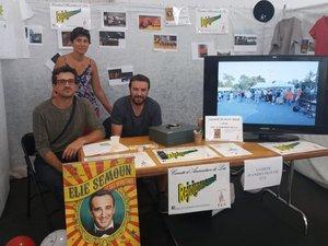 Les responsables du comité d'animation de Luc lorsdu forum des associations.