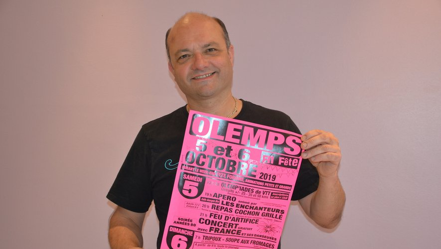 Bruno Privat, président du comité des fêtes.