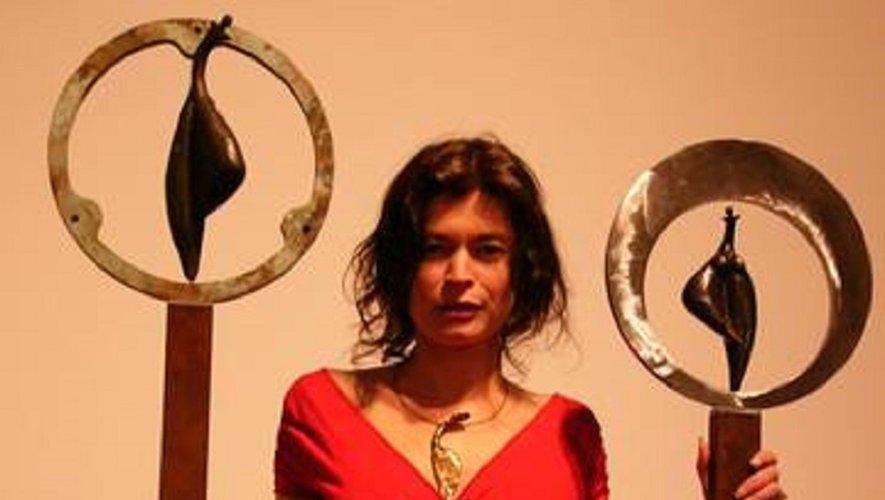 L'exposition de Laurence Louisfert est à voir jusqu'au 29 septembre.