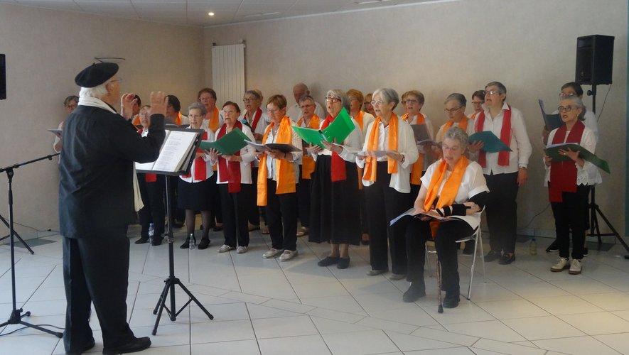 La chorale des Deux monts.