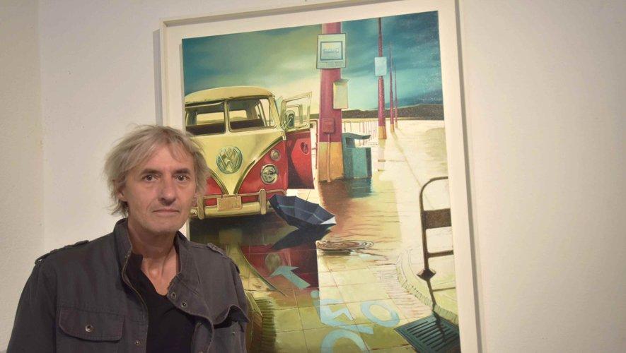 Le peintre Philippe Clicq exposeà la galerie B jusqu'au 22 septembre.