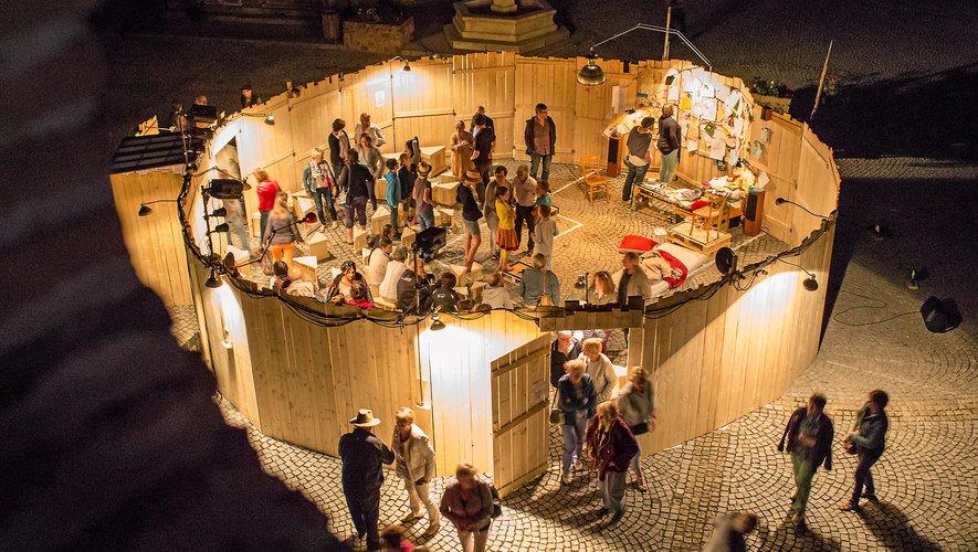 Le Pocket Théâtre s'installera  à Capdenac les 19 et 20 novembre.