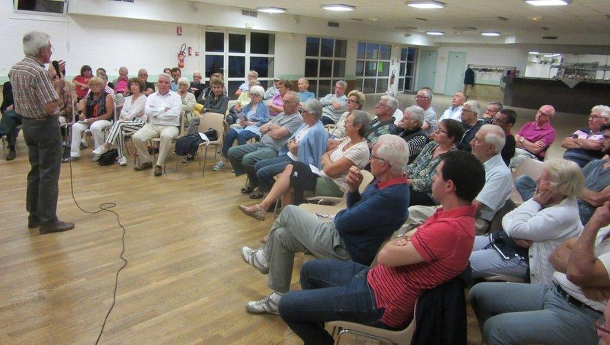 Les administrés sont venus nombreux assister à la réunion.