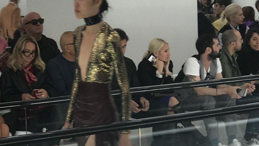 Le défilé printemps-été 2020 de la maison Gucci à Milan.