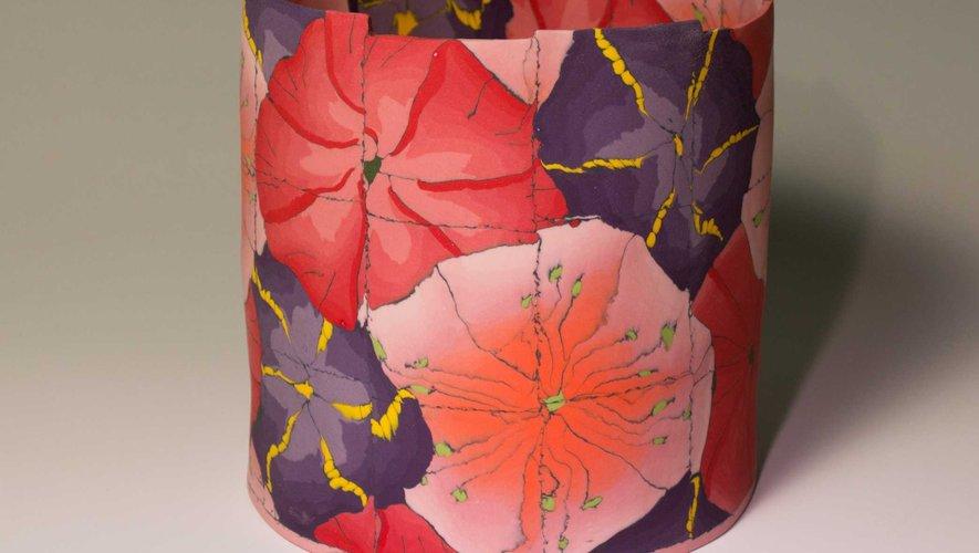 « Flowerbomb n°2 »,  une très belle œuvre de Maria Ten Kortenaar.