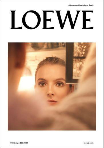 La campagne de prêt-à-porter féminin printemps/été 2020 de Loewe avec Jodie Comer