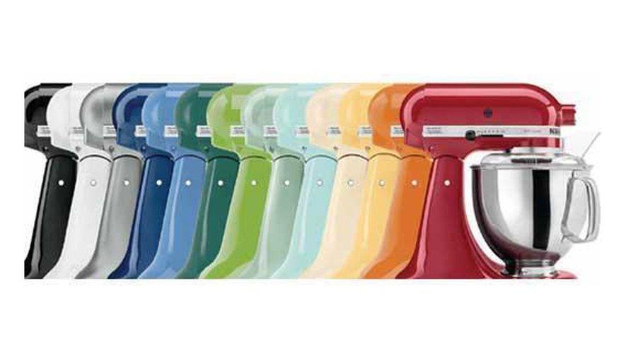 Les couleurs vives sont une véritable « signature » chez KitchenAid.