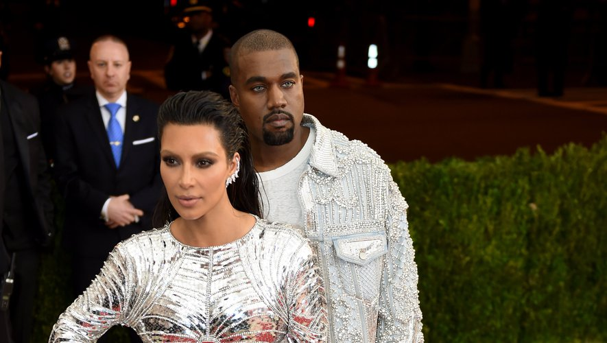 Kim Kardashian et Kanye West au Costume Institute Benefit du Metropolitan Museum of Art, le 2 mai 2016, à New York.